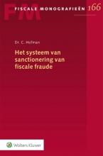 , Het systeem van sanctionering van fiscale fraude