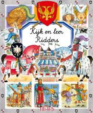Emilie  Beaumont, Philippe  Simon, Marie-Laure  Bouet kijk en leer Ridders