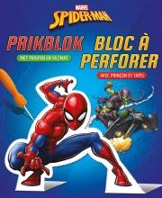 , Spider-Man prikblok Spider-Man bloc à perforer