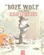 Christine  Naumann-Villemin De boze wolf lust geen konijntjes