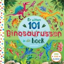 Rebecca Jones , Er zitten 101 dinosaurussen in dit boek