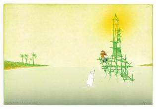 Poster het eiland (25 ex)