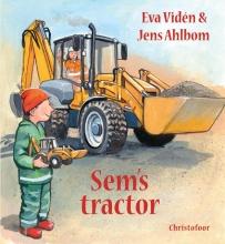 Eva  Víden Sem s tractor