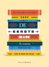 This is how we read , De eerste zin - Scheurkalender