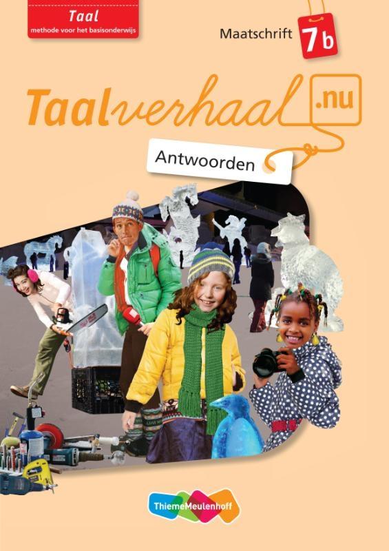 Hetty van den Berg, Tamara van den Berg, Jannie van Driel-Copper, Irene Engelbertink,Taal 7b Antwoorden maatschrift