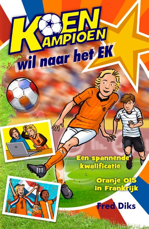 Fred Diks,Koen Kampioen wil naar het EK