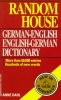 Dahl, Anne,Random House German-English English-German Dictionary