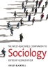 Ritzer, George,The Wiley-Blackwell Companion to Sociology