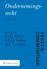 ,Tekst & Commentaar: Ondernemingsrecht druk 8