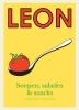 Henry  Dimbleby, Kay  Plunkett-Hogge, Claire  Ptak, John  Vincent,LEON - Soepen, salades & snacks