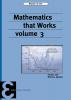 Maarten de Gee,Mathematics that Works 3