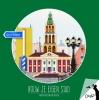 Helga de Graaf ,Okapi Bouw je eigen stad Groningen (set van 5)
