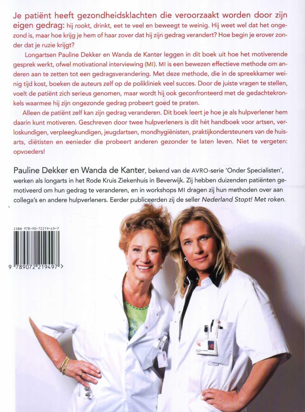 Pauline Dekker, Wanda de Kanter,Motiveren kun je leren