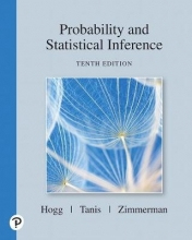 Robert V. Hogg,   Elliot Tanis,   Dale Zimmerman Probability and Statistical Inference