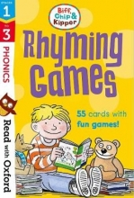 Hunt, Roderick Read with Oxford: Stages 1-3: Biff, Chip and Kipper: Rhyming Games Flashcards