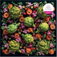, Artichoke Floral Puzzle