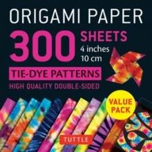 Tuttle Publishing Origami Paper 300 sheets Tie-Dye Patterns 4 inch (10 cm)