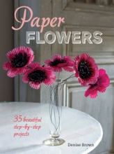 Denise Brown Paper Flowers