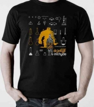 Dr. Jekyll & Mr. Hyde T-shirt, Small