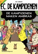 Hec  Leemans F.C. De Kampioenen FC De Kampioenen 61 De Kampioenen maken ambras