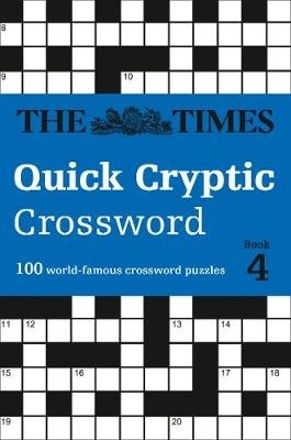 The Times Mind Games,   Richard Rogan,The Times Quick Cryptic Crossword Book 4