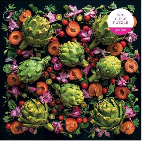 ,Artichoke Floral Puzzle