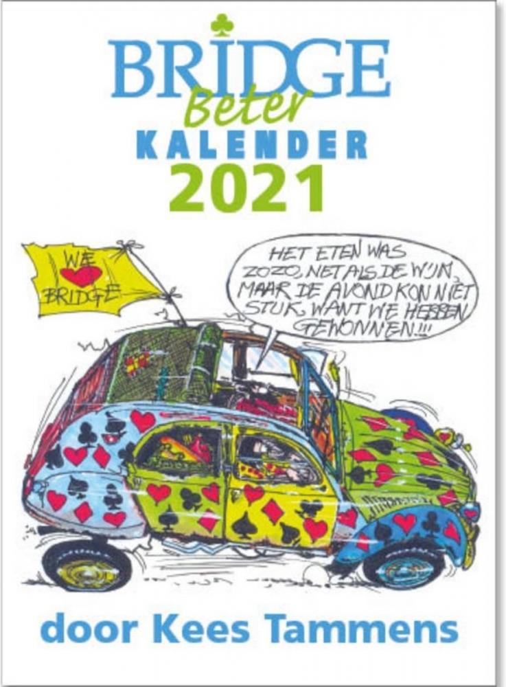 Kees Tammens,Bridge Beter kalender 2021