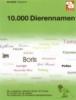 <b>Tasseron, A.</b>,10.000 Dierennamen